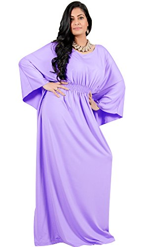 Adelyn & Vivian Plus Size Womens Long Sleeve Cocktail Evening Formal Maxi Dress