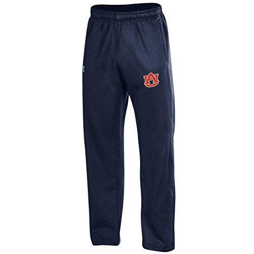 Under Armour NCAA Auburn Tigers Adult Men's Fleece Pants, Large, Midnight ()