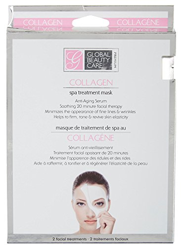Global Beauty Care - 2 per-pk Collagen Spa Treatment Masks