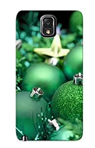 Fashion Tpu Case For Galaxy Note 3- Green Holiday Defender Case Cover