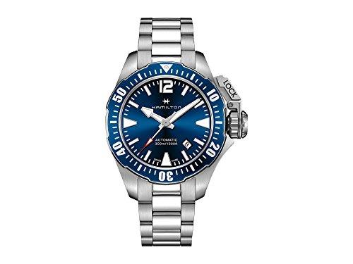 Hamilton Men's Khaki Navy Frogman - H77705145 Blue One Size