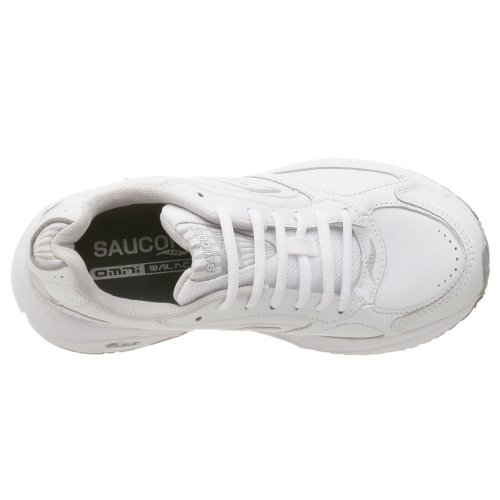 Saucony Women's Grid Omni Walker Sneaker White/Silver discount the cheapest sale shop Y30z64GEj