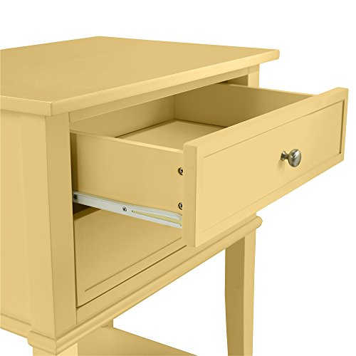 Ameriwood Home 5062496COM Franklin Accent Table 2 Drawers, Yellow by Ameriwood Home (Image #4)