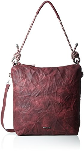 Tamaris Lindsey Hobo Bag - Shoppers And Shoulder Bags Woman Red (wine)