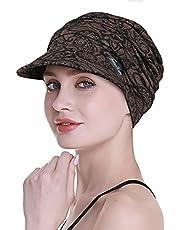 FocusCare Mjuka mössor för kemo kvinnor bambu baseballkeps håravfall turbaner