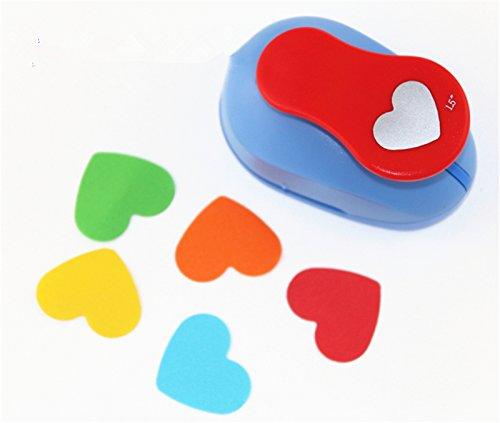 Shaped Felt (CADY Crafts Punch 1.5-Inch paper punches Craft Punches (Heart))