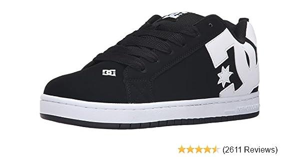 53b78ca96f0c6e Amazon.com  DC Men s Court Graffik Skate Shoe  DC SHOE CO USA  Clothing
