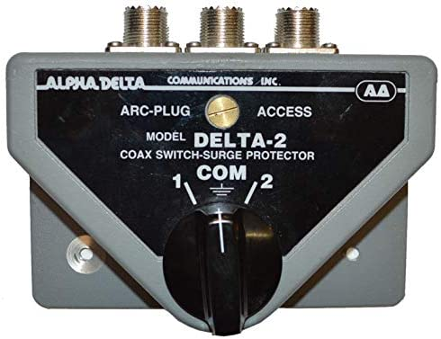 [해외]Alpha Delta Original DELTA-2 DELTA-2B 2-Position Coax Switch SO-239 2KW - 500MHz / Alpha Delta Original DELTA-2 DELTA-2B 2-Position Coax Switch, SO-239, 2KW - 500MHz