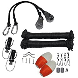 Premium Black Outrigger Rigging Kit