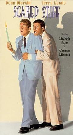 Amazon.com: Scared Stiff [VHS]: Dean Martin, Jerry Lewis, Lizabeth ...