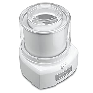 Cuisinart ICE-21 1.5 Quart Frozen Yogurt-Ice Cream Maker (White) (Certified Refurbished)