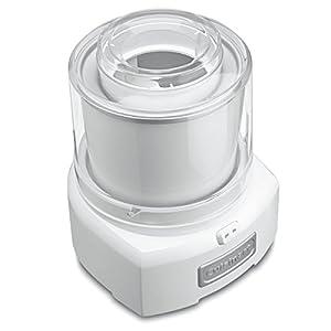 Cuisinart ICE-21 1.5 Quart Frozen Yogurt-Ice Cream Maker (White) (Certified Refurbished)