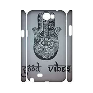 Evil Eye Hamsa Personalized 3D Cover Case for Samsung Galaxy Note 2 N7100,customized phone case ygtg611159 by icecream design