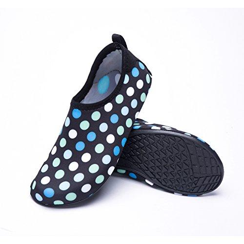 Rápido de Zapatos LK blue Respirable Zapatos Unisex Agua de LEKUNI Soles Playa de Dd Secado de de Natación Piscina Color Agua Calzado wwX4vpq