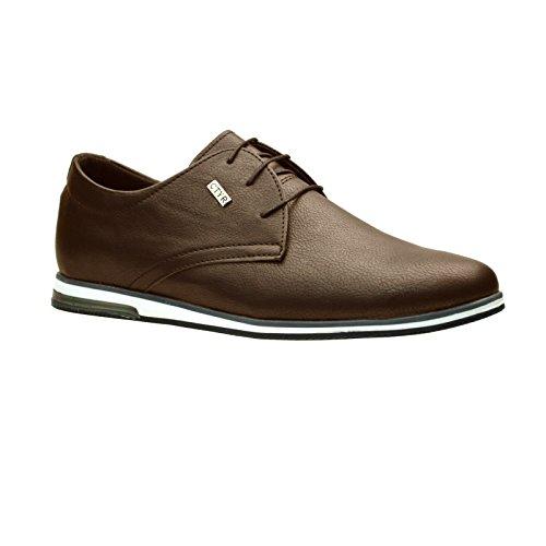 marrón zapatillas ClassyDude deportivas para hombre rOqIqd