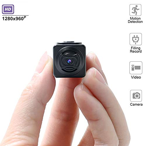 LJYA 2019 New Mini Hidden Spy Camera 1080P HD Motion Detection Night Vision, Action Camera, Home Security Camera Night Vision
