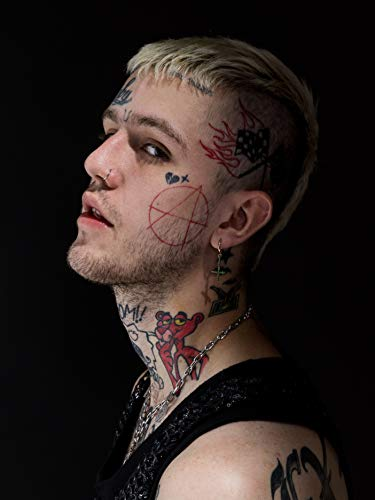 United Mart Poster Lil Peep American Rapper Emo Album Cover Poster Size 12 x 18 Inch Rolled Poster from United Mart Poster