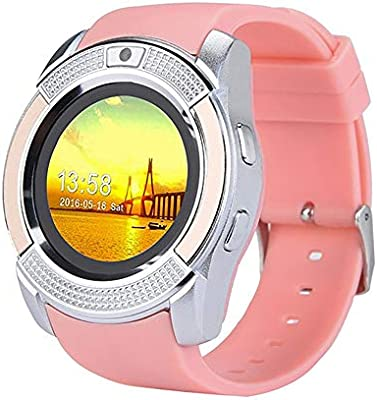 Amazon.com: Reloj inteligente con pantalla táctil y ranura ...