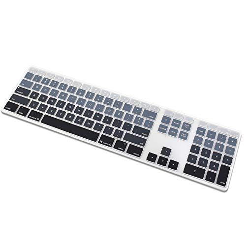 protector de teclado para apple Keyboard (MB110LL/B) gris