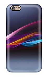 Waterdrop Snap-on Sony Xperia Case For Iphone 6(3D PC Soft Case)