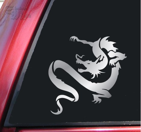 Chinese Dragon Vinyl Decal Sticker - Shiny (Chinese Dragon Vinyl)