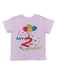 Lil Shirts It's My 2nd Birthday Toddler T-Shirt