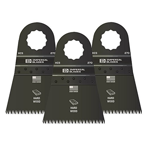 Imperial Blades 3SC270 2-1/2 inch Precision Wood Blade, fits Fein Supercut and Festool Vecturo