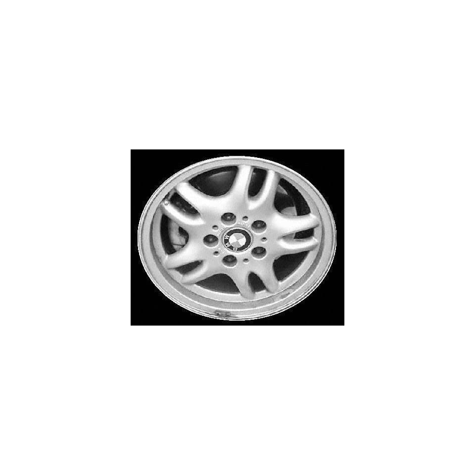 98 02 BMW Z3 ALLOY WHEEL RIM 16 INCH, Diameter 16, Width 7 (5 DOUBLE SPOKE), 46mm offset Style #30 Exposed lugnuts, SILVER, 1 Piece Only, Remanufactured (1998 98 1999 99 2000 00 2001 01 2002 02) ALY59