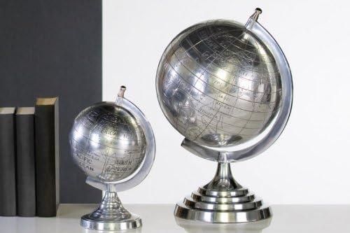 Nici 43247 Schmuckbox EinhornTheodor mit LED-Lichtern und Spiegel Silber 13 x 18,5 x 14 cm