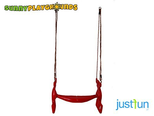 Double swing seat Glider Rider- Outdoor and Indoor Playgrounds set Accessories for Kids (Rider Swing Glider)
