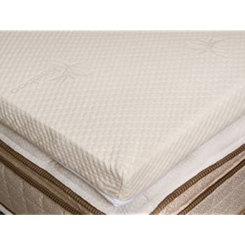 Amazon Com Natural Latex Mattress Toppers 2 Quot Soft With