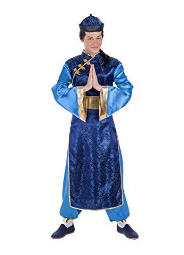 Banyant Toys Disfraz Chino Azul S