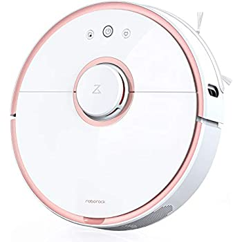 Roborock S5 Robotic Vacuum and Mop Cleaner, 2000Pa Super Power Suction &Wi-Fi Connectivity and Smart Navigating Robot Vacuum with 5200mAh Battery Capacity ...