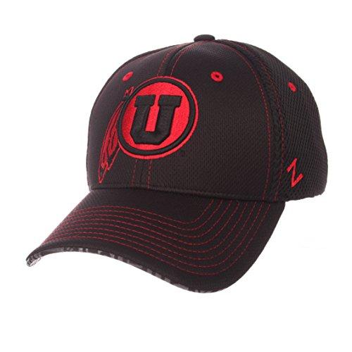 ZHATS NCAA Utah Utes Men's Undertaker Hat, X-Large, Black