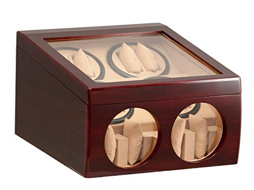 8-4-red-wood-automatic-dual-quad-watch-winder-display-storage-box