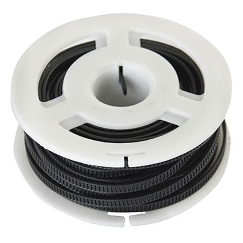 Gardner Bender BB-B01UVB Bundle Boss Replacement Spool, 39 ft Belt, 50 lb, Nylon Cable Tie Replacement, Electrical Wire and Cord Management, UV Resistant Black