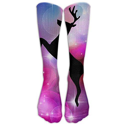 Matt Martin Halloween Costume (Knee High Socks Deer Matt Todd Long Sports Tube Stockings For Mens Women All Sport Holiday)