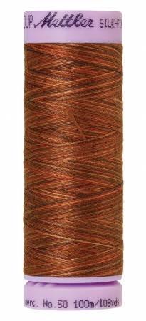 (Mettler 9075 Silk-Finish Variegated Cotton Thread 50 wt. 109 Yd/100 M Spool)