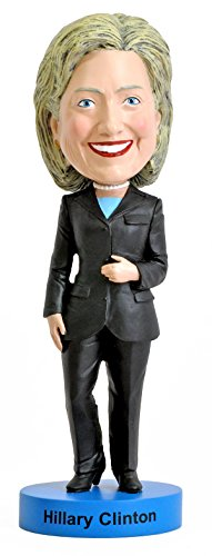 Edition Bobble Head Doll - Royal Bobbles Hillary Clinton Bobblehead - 2016 Edition