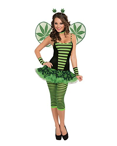 Women's Get Buzzed Cannabis Costume