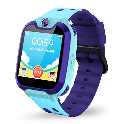Themoemoe Kids Smartwatch Phone. Kids Music Watch Without GPS with Camera Music 7 Games Alarm...