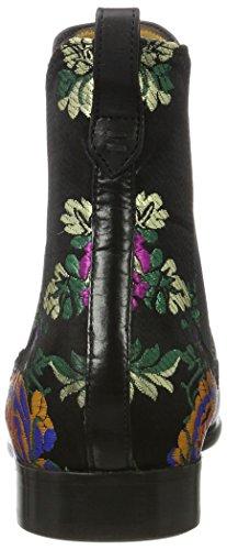 Melvin & Hamilton Women's Emma 8 Tm Chelsea Boots Black (Crust / Korela Blk / Blk 5, Elast. Blk, Ls Blk Crust / Korela Blk / Blk 5, Elast. Blk, Ls Blk)
