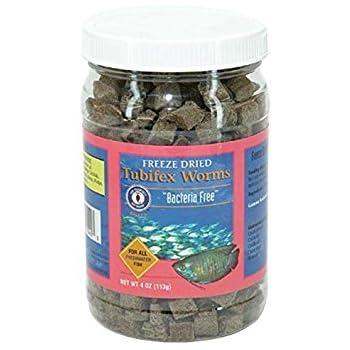San Francisco Bay Brand/Sally's Freeze Dried Bacteria Free Tubifex - 4 oz.