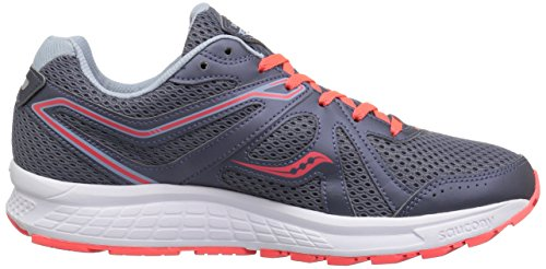 Viz Gry Fitness Cohesion Grey 2 Saucony 11 Red Women's Shoes fApxn0Y