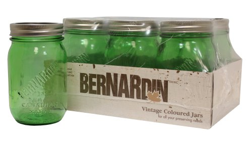 Ball Mason Jars - 500 mL - Green