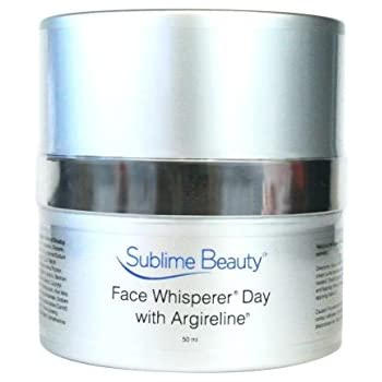 Face Whisperer Day Cream with Argireline, 1.7 oz. Anti Aging Moisturizer from Sublime Beauty to Relax Wrinkles & Hydrate (1 Jar)