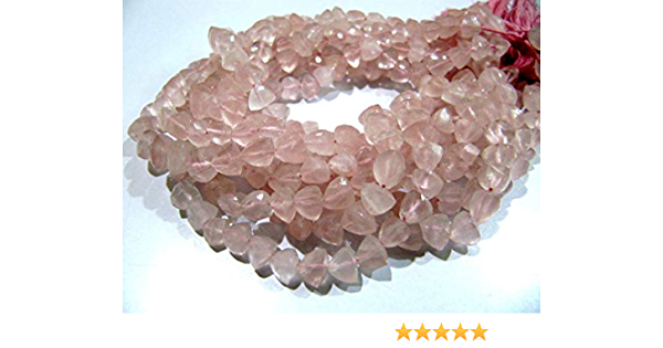 50.65 Ct Awesome AAA Natural Bio Pink Quartz Slice Gemstone 24X6 26X6 mm Rectangle Slice Beads Strand 4 For Making Jewelry US-218