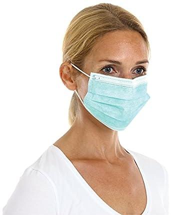 CMT 201015 PP - Máscara de boca quirúrgica no tejida (paquete de 1000)