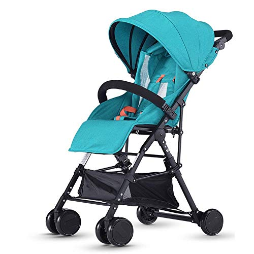 BHDYHM Jogger Stroller, All Terrain Lightweight Fitness Jogging Stroller, Large Storage Basket Pushchair Travel System
