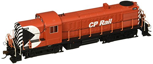 Bachmann Industries Alco RS-3 DCC Sound Value Equipped HO Scale #8438 Diesel CP Rail Multimark Locomotive, Red/Black/White -